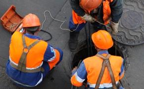 Засор-колодца-канализации